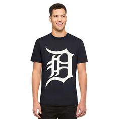 ea228a1d0eac6 Detroit Tigers Crosstown Flanker T-Shirt Mens Fall Navy 47 Brand