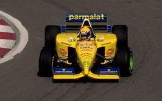 Roberto Moreno  Forti - Ford 1995