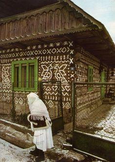 possibly Cicmany, Slovakia --  amazing!