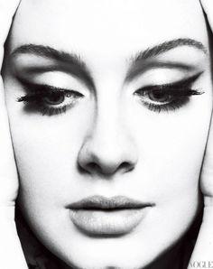 """Adele"" | Model: Adele, Photographers: Mert Alas and Marcus Piggott, Vogue US, March 2012"