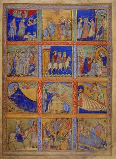 Eadwin Psalter is a heavily illuminated 12th-century psalter named after the scribe Eadwine, a monk of Christ Church, Canterbury