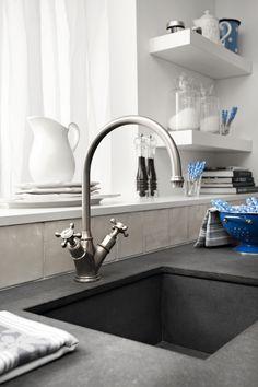 Sisal, Bathroom Exhaust Fan, New Kitchen, Kitchen Ideas, Home Kitchens, Sweet Home, Home Appliances, Bathroom Fans, House