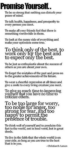 """To give so much time to improve yourself that you have no time to criticize others"" I absolutely love that"