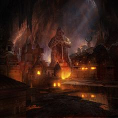 Dwarven City Concept Art - Bing Images