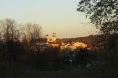 bagafarna-foto: Gorlice - widok na centrum miasta z dolnej części ulicy Słonecznej