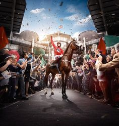 Crabbies Grand National 2016 Retouch on Behance