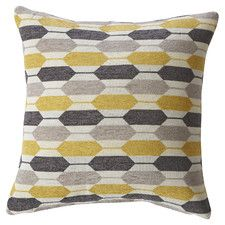 Canyon Creek Hexagon Feathered Throw Pillow