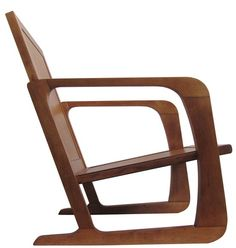 "Karl Emmanuel Martin (KEM) Weber (1889 - 1963) - ""Airline Chair"" (1936) (American art deco)....see every important designer chair of the 20th century on my board named just that :)... Help me with any missing ones if you can...."