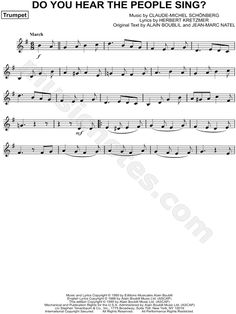 Do You Hear the People Sing? sheet music from Les Misérables