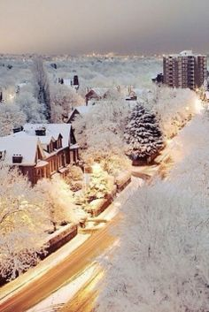 1000 Images About Snow Covered Cities On Pinterest Snow Merry Christmas And Cities
