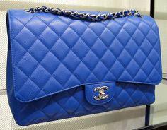 Cobalt Blue Chanel Maxi