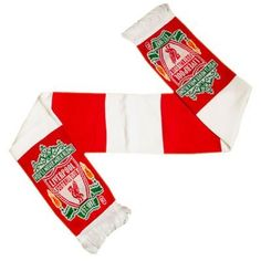 Liverpool FC - Official Crest Bar Scarf by Liverpool F.C.. $15.68. We buy our Liverpool soccer scarves direct from the club's representatives in the UK. All Liverpool scarves come in official Liverpool FC packaging with hologram and/or bar codes.