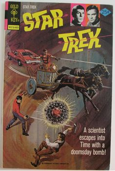 """Star Trek"" Issue 36 by Gold Key Comics"