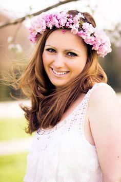 #flowercrown #cherryblossom #portrait #photography #spring