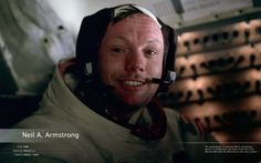 Neil Armstrong. Check out the whole NASA Heroes collection here: http://commandmodulepilot.tumblr.com/post/21649632376/this-is-my-tribute-to-the-brave-astronauts-and