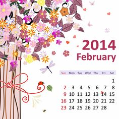 2 February 2014 780x780 2014 Calendar. all Months [12 JPEGs]