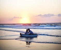 Si tenéis cerca el mar no dudéis en utilizarlo como escenario. Es perfecto.