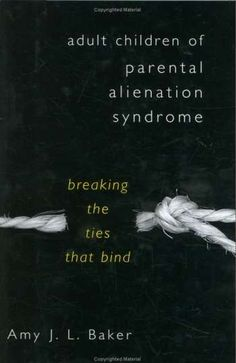Adult Children of Parental Alienation Syndrome   a must read. I just read this book on my last trip..could not put it down. I gained great insight on how the manipulating parent operates. So sad to read the sort of things they say and do to our children to make themselves feel better or in control:(: