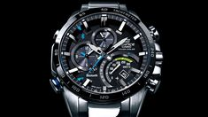 CASIO EDIFICE Official Website EQB-501 Page.