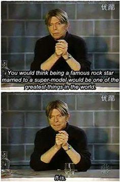 All hail Bowie…