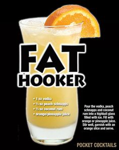 Millions of People Enjoy Pocket Cocktails. Check out our World Famous Drink Posters. Cocktails, Cocktail Drinks, Cocktail Recipes, Mixed Drinks Alcohol, Alcohol Drink Recipes, Liquor Drinks, Alcoholic Drinks, Beverages, Bourbon Drinks