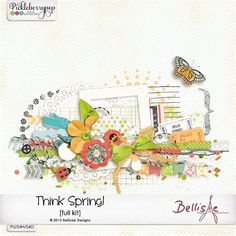 THINK SPRING! | full kit by Bellisae Designs