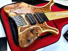 Banjo, Djent Guitar, Custom Bass Guitar, Guitar Body, Custom Guitars, Guitar Chords, Cool Guitar, Acoustic Guitar, Rare Guitars