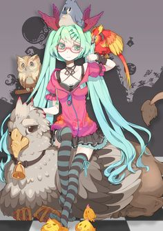 Miku (Vocaloid) by Riccae