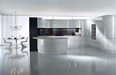 Hi-tech kitchen designs   InteriorHolic.com