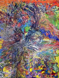 """Saatchi Art Artist Igor Eugen Prokop; Painting, """"13. Meet Joe Black"""" #art"""