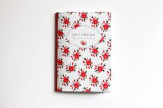 Beautiful floral notebook by EpoqueGraphics on Etsy, Cute Notebooks, Floral Illustrations, How To Make Notes, Moleskine, Paper Goods, Delicate, Stationery, Etsy, Shopping