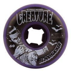 OJ Creature Bloodsucker Fives 52mm / 99a Skateboard Wheels