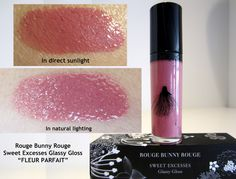 """BFF BEAUTY BLOG: REVIEW: Rouge Bunny Rouge Glassy Gloss """"Fleur Parfait"""""""
