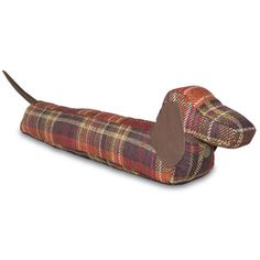 Mulberry Home - Hamish - Dachshund Draught Excluder Adorable, plus no rush to get up and take this one for a walk, may lazy luxury mornings continue Xx Angela Wilsons Amara wish list