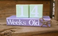 Count up. Baby and Childrens age counter. by Kateslittleshop, $30.00