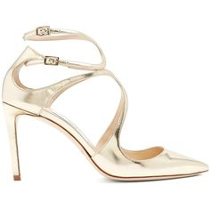 496e93e0bf4980 Lance PF 100 Liquid Mirror Leather Sandals in Ballet Pink.