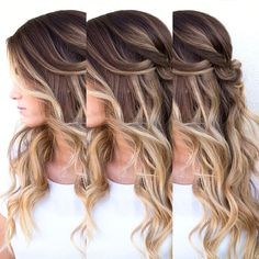 Ombré #ericzemmour #ericzemmourmonacoII #inspiration #monaco #best #crew #lorealpro #iamlorealpro #hair #hairstylist #hairdresser #haircut #haircolor #hairstyle #style #fashion #glamour #mode #blonde #brown #waves #boho #hairup #vintage #undercut #bronde #balayage #ombre #shatush #flatwaves #bob #wob #carre