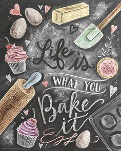 Deco Panel bunt, (B/H): 40/50cm, »Life is what you Bake it«, yourhome Jetzt bestellen unter: https://moebel.ladendirekt.de/dekoration/bilder-und-rahmen/bilder/?uid=80b895ac-bbfb-5628-99c5-1d6c1308573e&utm_source=pinterest&utm_medium=pin&utm_campaign=boards #deco #bilder #panel #rahmen #dekoration