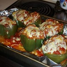 My grandmother always made THE BEST stuffed peppers. They took hours to bake... such a special treat! She left her recipe with me, and I was determined to make these doable as an 'everyday' dinner option. . . by precooking the... #brownricestuffedpeppers #cleaneatingdinners #cleaneatingmeals