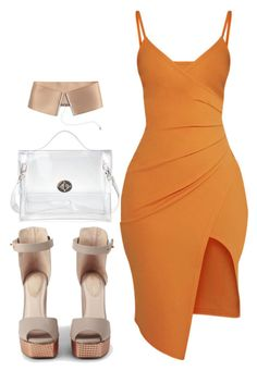 """Untitled #6053"" by stylistbyair ❤ liked on Polyvore featuring Kat Maconie, Pretty Little Thing and H&M"
