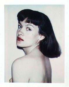 Paloma Picasso. Andy Warhol Polaroid