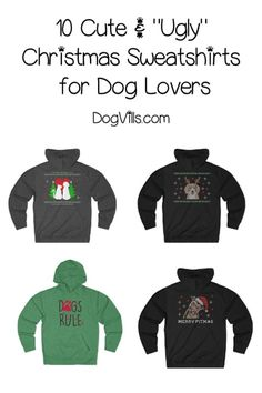 55ceb657 Looking for cute shirts and ugly dog lovers Christmas sweaters? You have to  see these