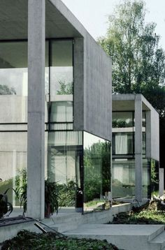 Concrete House of three women Beautiful Architecture, Contemporary Architecture, Architecture Details, Interior Architecture, Gothic Architecture, Installation Architecture, Architecture Panel, Chinese Architecture, Architecture Portfolio