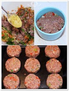 O melhor restaurante do mundo é a nossa Casa: Mini-hamburgueres para festas
