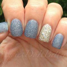 Zoya Nyx and Cosmo (Cinderella Nails)