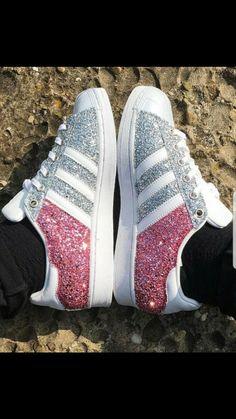 Zapatillas Adidas Superstar Blanco Rosa | Mission Surf Shop