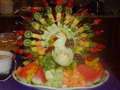 Carved Fruit Centerpieces | Recent Photos The Commons Getty Collection Galleries World Map App ...