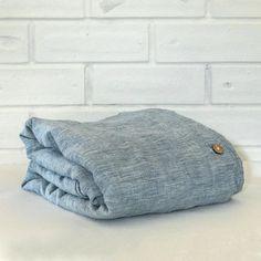 Regale Blue Linen Duvet cover Set | Super King Linen Duvet, Linen Fabric, Good Sleep, Duvet Cover Sets, Pure Products, Pillows, Cool Stuff, Comforters, Blue