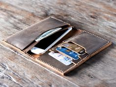 iPhone 6 Wallet Case - Mens Leather Wallets - Womens Bags Purses Wallets -- 013 - Clutch - Mobile Accessories (39.00 USD) by JooJoobs