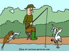 Fly Fishing Cartoon | fishing-cartoons